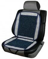 Накидка на сиденье CN 12511 с косточками MF-831-4 синяя