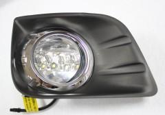 Дневные ходовые огни для Toyota Land Cruiser Prado 150 '10- (LED-DRL)