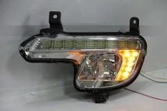 Дневные ходовые огни для Peugeot 508 ПТФ с DRL (LED-DRL)