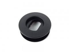 Клипса для ковриков в салон VW/Ford/Audi/Porsche овальная, черная