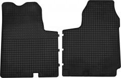 Коврики в салон для Renault Trafic '01-14 резиновые, черные (Petex) передние