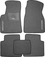 Коврики в салон для Hyundai Matrix '01-10 текстильные, серые (Стандарт)