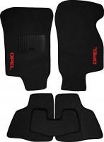 Коврики в салон для Opel Astra G '98-10 текстильные, черные (Стандарт)