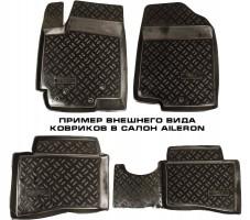 Коврики в салон для Volkswagen Golf Plus V/VI '05-14 полиуретановые (Aileron)
