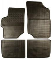 Коврики в салон для Citroen C-Elysee '13- резиновые, черные (Rigum)
