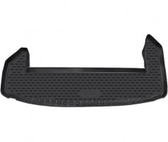 Коврик в багажник для Chevrolet Captiva '11-, короткий, полиуретановый (Novline) черный