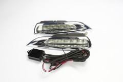 Дневные ходовые огни для Mazda 6 '08-10 (LED-DRL)
