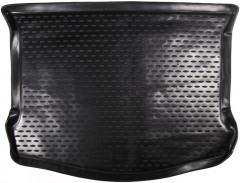 Коврик в багажник для Ford Kuga '08-13, полиуретановый (Novline) черный