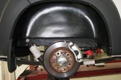Подкрылок задний левый для Citroen Jumper '06- с расширителями арок (Novline)