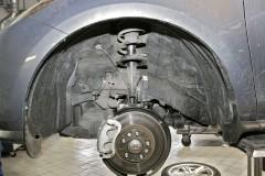 Подкрылок передний левый для Mazda CX-7 2006 - 2010 (Novline)