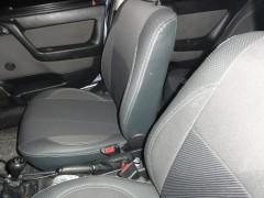 Авточехлы Premium для салона Opel Astra G '98-10 серая строчка (MW Brothers)