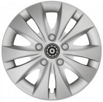 Колпаки на колеса R15 Storm Silver (Jestic)