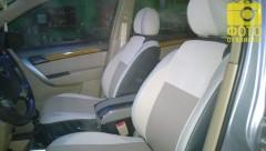 MW Brothers Авточехлы Premium для салона Chevrolet Aveo '04-11, седан бежевые (MW Brothers)