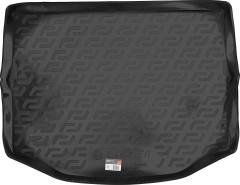 L.Locker Коврик в багажник для Toyota RAV-4 '13-, с полноразмерным запасным колесом , резино/пластиковый (Lada Locker)