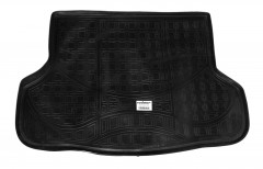 Коврик в багажник для Lifan X60 '11-, резино/пластиковый (NorPlast) черный