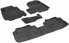 Коврики в салон для Honda CR-V '06-12 текстильные 3D, серые (3D Mats)
