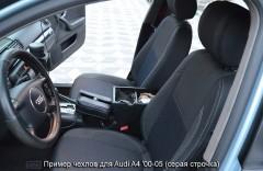 MW Brothers Авточехлы Premium для салона Audi A4 '00-05 красная строчка (MW Brothers)