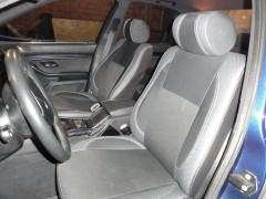 MW Brothers Авточехлы Premium для салона BMW 5 (E39) '94-04 серая строчка, с цельной спинкой (MW Brothers)