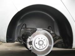 Подкрылок задний левый для Peugeot 508 '11- (Novline)