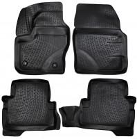 Коврики в салон для Ford Kuga '13- полиуретановые, черные (L.Locker)