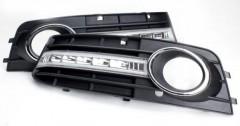 Дневные ходовые огни для  Audi A4 '08- (LED-DRL)
