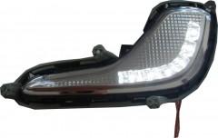 Дневные ходовые огни для Hyundai Accent '11- (LED-DRL)