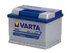 Автомобильный аккумулятор Varta Blue Dynamic (560409054) 60Ач