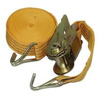 Стяжной ремень с храповым механизмом ST-213D- 8 OR, 8 м. - 3 т. (Витол)