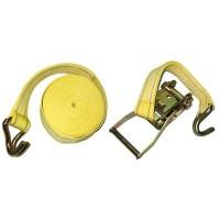 Стяжной ремень с храповым механизмом ST-212D- 6 YL, 6 м. (Витол)