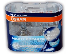 Geely ������������� �������� Osram Night Breaker Plus H7 (��������: 2��)