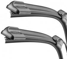 Фото 2 - Щётки стеклоочистителя бескаркасные Bosch AeroTwin 600 и 550 мм. (к-кт) A 424 S