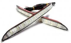 Дневные ходовые огни для Kia Rio '11-15 (LED-DRL)
