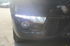 Дневные ходовые огни для Nissan Teana '14- (LED-DRL)
