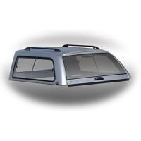 Боковое фиксированное стекло кунга для Mitsubishi L200 / Triton '05-15 (левое)
