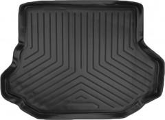 Коврик в багажник для Kia Carens (FC) '99-06, резино/пластиковый (Norplast)