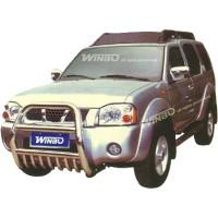 Метал. защита переднего бампера для Nissan Paladin/X-Tera '00-03