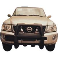 Метал. защита переднего бампера для Nissan Patrol '05-on