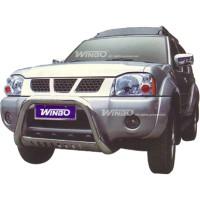 Метал. защита переднего бампера для Nissan Paladin '03-06