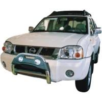 Метал. защита переднего бампера для Nissan Paladin '02-03