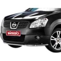 Метал. защита переднего бампера для Nissan Qashqai '07-on