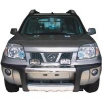 Метал. защита переднего бампера для Nissan X-Trail '02-04