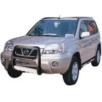 Пластиковая защита переднего бампера для Nissan X-Trail '02-04