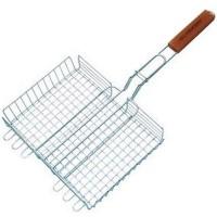 Решетка-корзина двойная для гриля с ручкой 29х23 см Campingaz