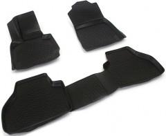 Коврики в салон для BMW X3 F25 '10-17 полиуретановые, черные (L.Locker)