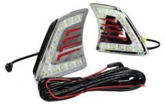 Дневные ходовые огни для Toyota Hilux '12-15 (LED-DRL)