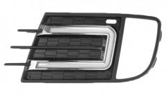 Дневные ходовые огни для Volkswagen Tiguan '13-16 V2 (LED-DRL)