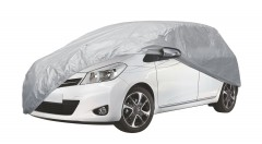 Тент автомобильный для хетчбэка Vitol Peva+Non Woven L (HC13403)