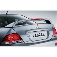 Задний спойлер на багажник для Mitsubishi Lancer 9 '04-09, со стоп. сигн (Витол)