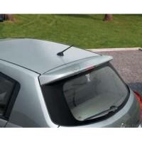 Задний спойлер на крышу Nissan Tiida '05-, хетчбек, UNCLE (Витол)