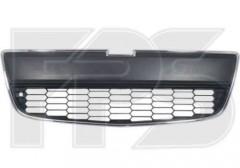 Решетка бампера для Chevrolet Aveo '11- нижняя (рамка хром.) (FPS)